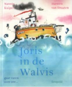boek joris zit de walvis